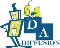 Logo DA Diffusion | Distribution automatique – Rennes